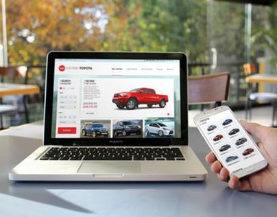 Autonet Dealer Solutions - Template Website Design