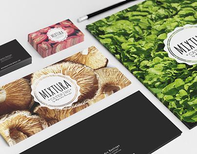 Mixtura Catering. Branding