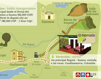 """Mapa """"EL NÓMADA"""""""