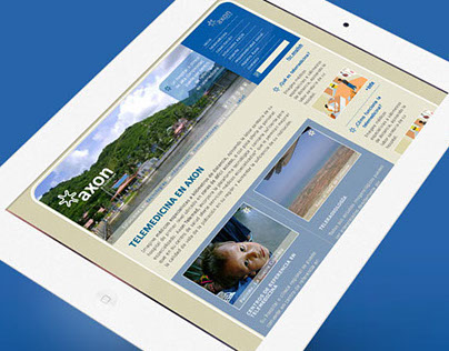 Porpuesta Front-end Sitio Web AXON telemedicina