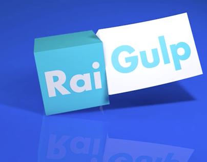 A studio for an ident of RaiGulp broadcast