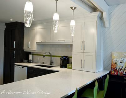 Design de Cuisine / Kitchen Design par/by LorraineMasse