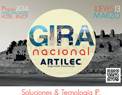 Gira Nacional Artilec, Antofagasta 2014.