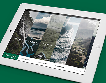 NOMA EXPLORE - WEB DESIGN