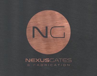 Nexus Gates & Fabrication Branding