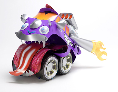 Paper Toy Wild Wheels on Behance