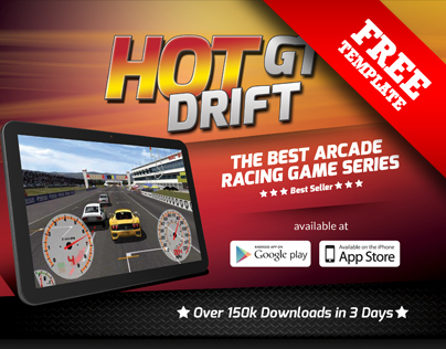 FREE - Mobile Games App Flyer Template