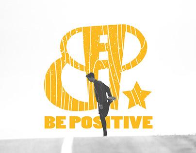 Be Positive Logo Design