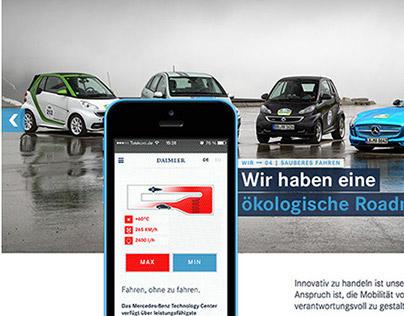 Daimler Unternehmensprofil 2014