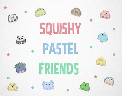 Squishy Pastel Friends