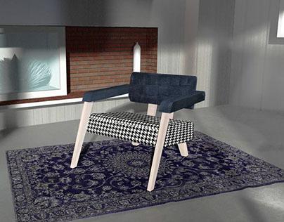 Easy chair by Pfarrachman