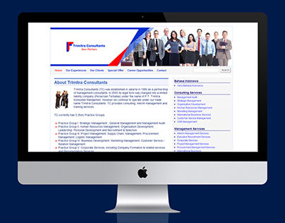Website Banners for Trimitra Consultants