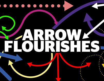 Dynamic Arrow Flourishes AE Templates