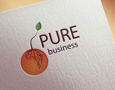 Pure Business Logo Design