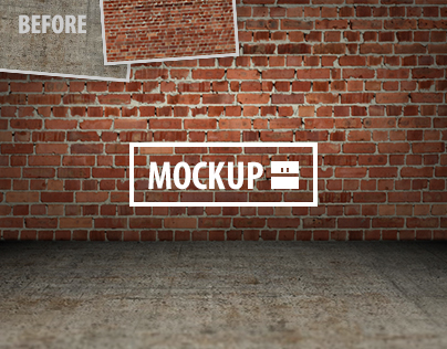 11 Interior Mockups Set (Photoshop)