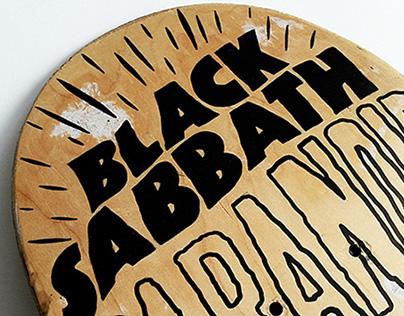 Black Sabbath Skateboard