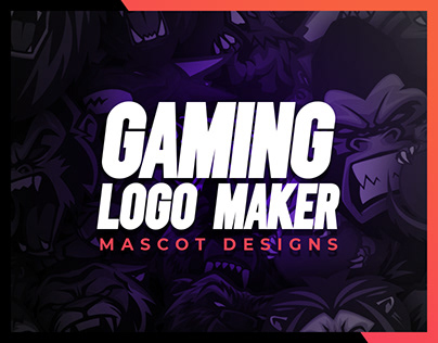 Mascots & Logodesign with the Gaming-Logo-Maker