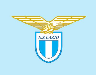 Graphic design for S.S. Lazio official online store