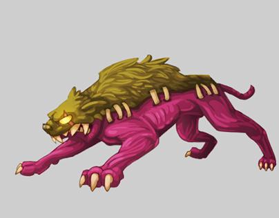 Monster design on QuestRun