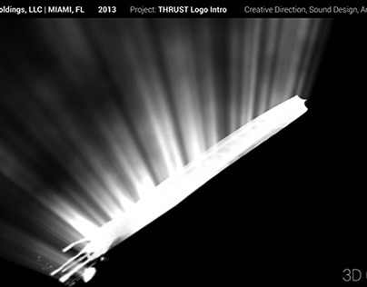 Making of Thrust Logo Intro