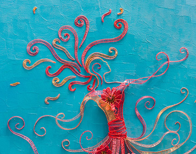 Wire Art on Canvas: Competition Entries 2014