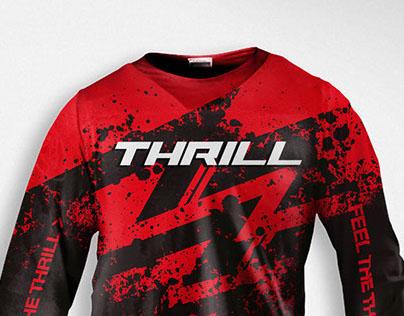 Thrill 2013 Motocross Jersey Design
