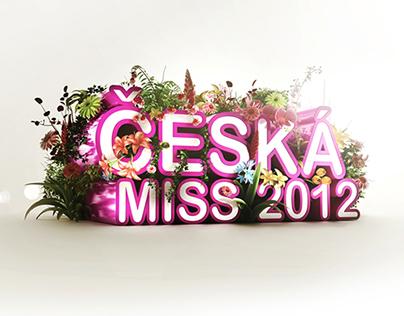 Czech Miss 2012 design concept