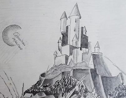Old graphite work