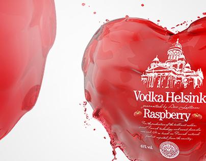 Helsinki Vodka st. Valentine's day