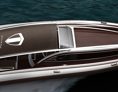 Rigid Inflatable Yacht Concept