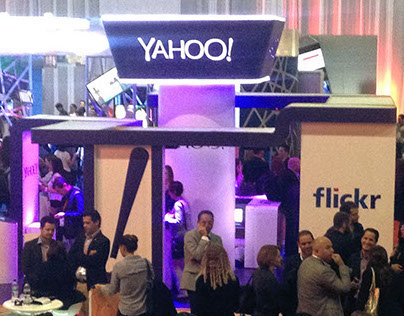 Booth design for Yahoo at the IAB2014 México