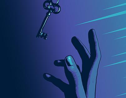 Reaching the Key