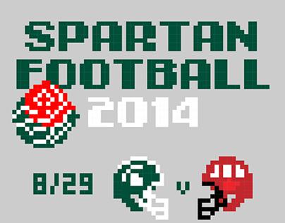 Spartan Football 2014 Schedule