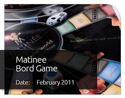Matinee Board Game