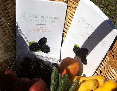 Farm to Table Grant Recipe Books for HeadStart