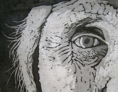 Olho Vivo - Calcografia