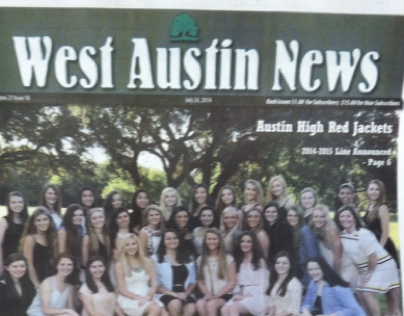 West Austin News Layouts