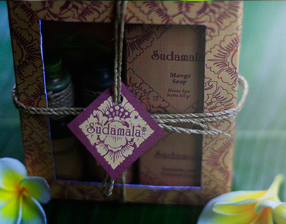 Sudamala Spa Product Packaging (Redesign)
