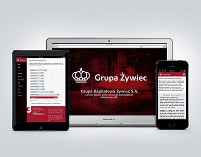 Żywiec Yearly Report