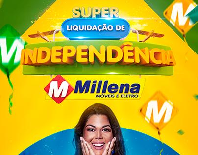 Liquidação de Independência - Millena