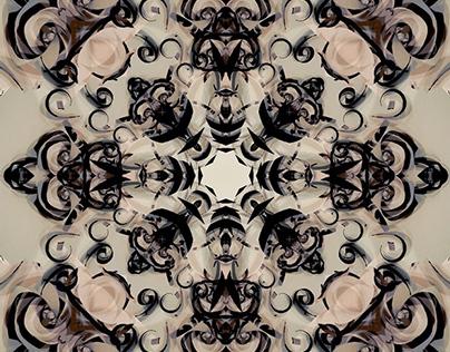 Illustration. Kaleidoscope.