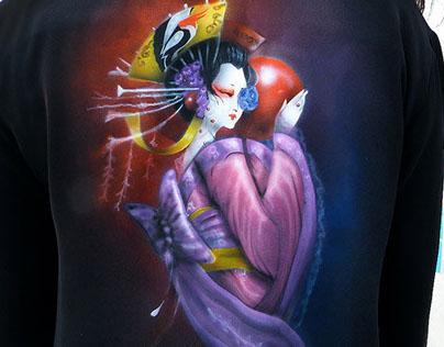 Geisha on Abaya