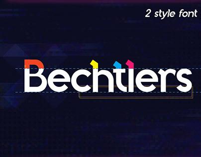 FREE   Bechtlers Modern & Elegant Sans Serif Font