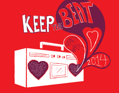 Keep The Beat: Heart Walk 2014