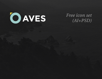 Aves Icon Set (Free AI+PSD)