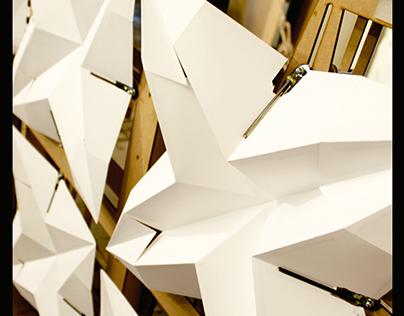 Light Responsive Origami Facade