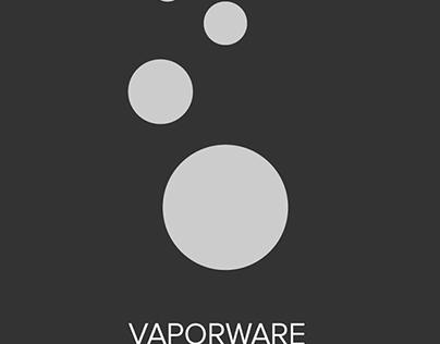 Vaporware Splash Screen Concept