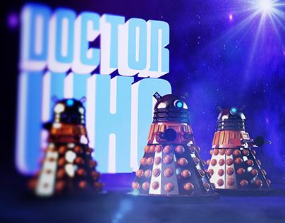 The Dalek Animation 3D.