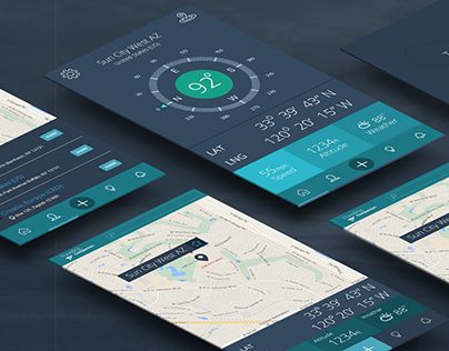 Travel App Design