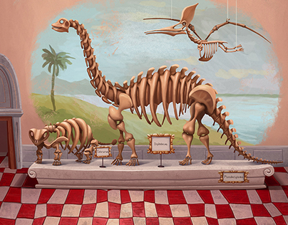 """Planet of Dinosaurs""(iPad)"